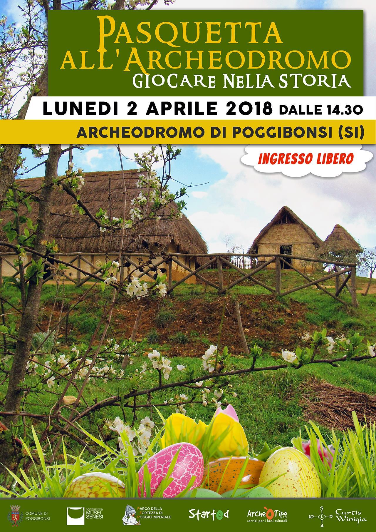 Pasquetta all'Archeodromo (lunedì 2 aprile 2018 ore 14.30)