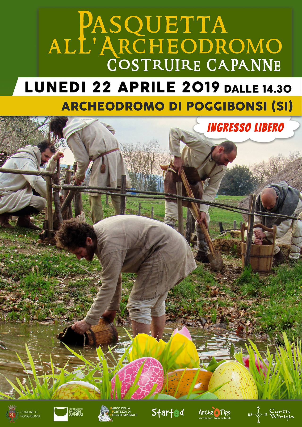 Pasquetta all'Archeodromo