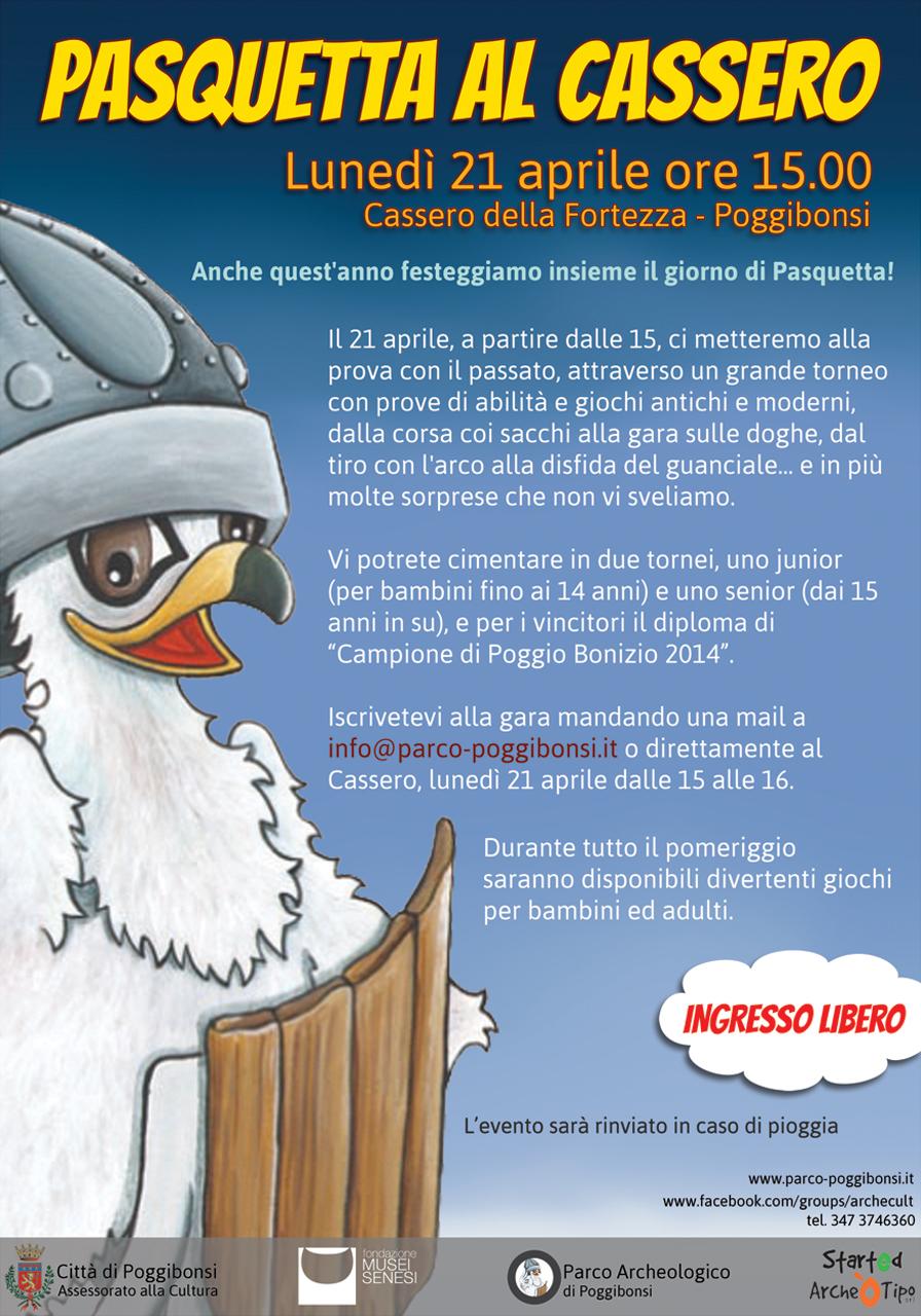 Pasquetta al Cassero (21 aprile 2014, ore 15.00)