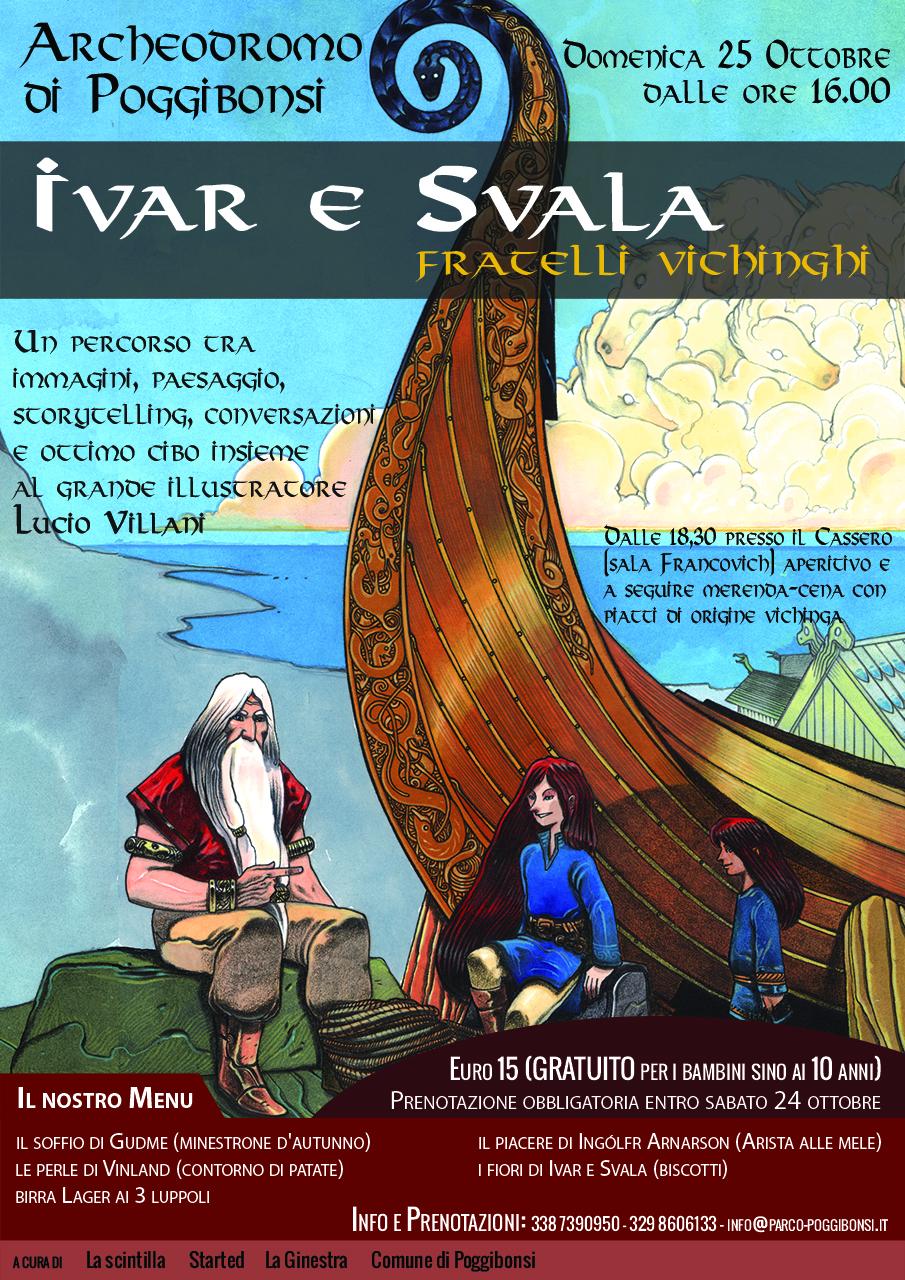 Ivar e Svala fratelli vichinghi (domenica 25 ottobre 2015, ore 16)
