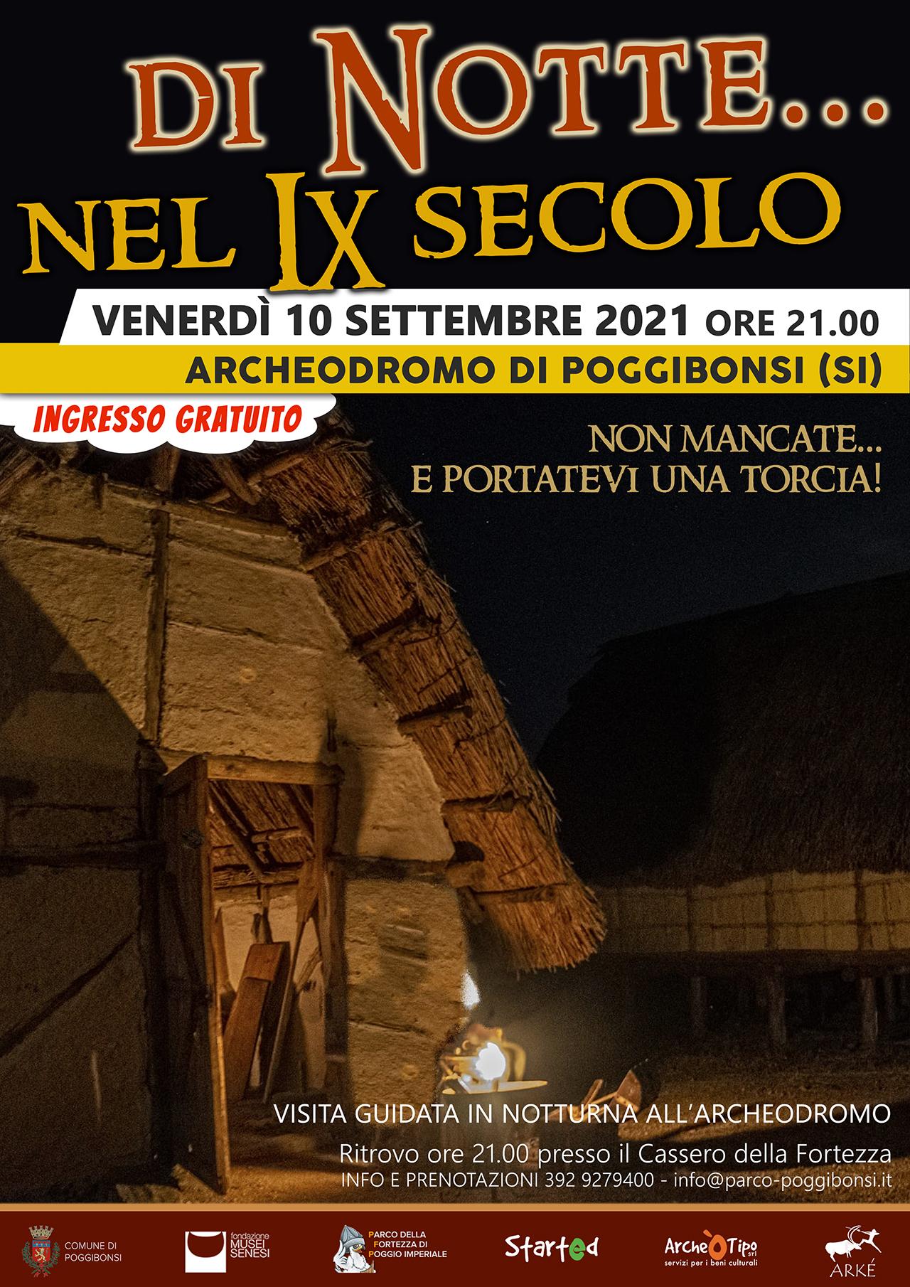 Di Notte... nel IX secolo