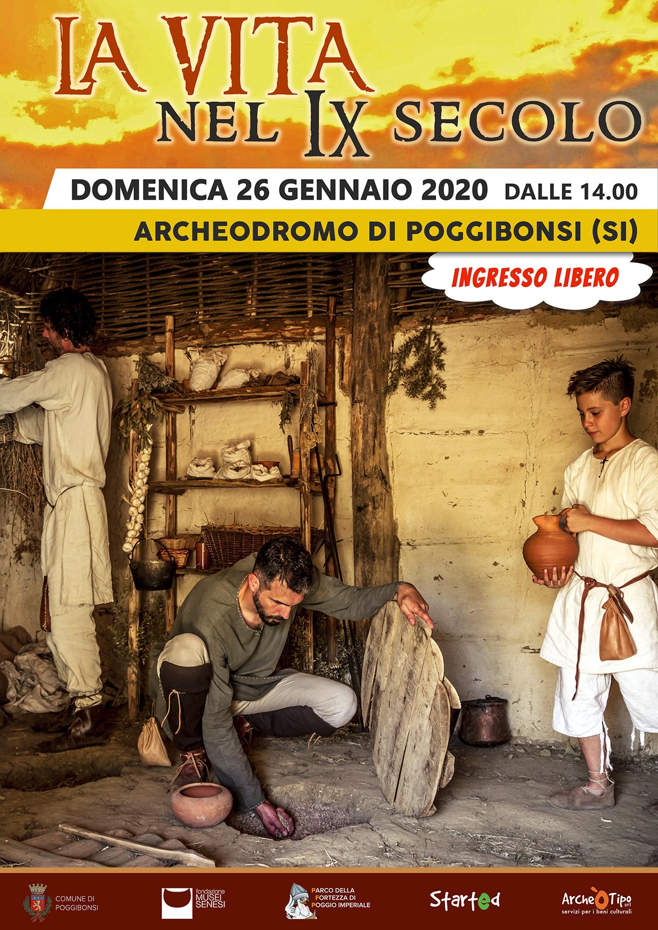 La vita nel IX secolo - Domenica 26 gennaio 2020