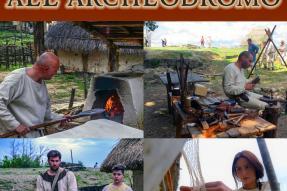 Primo maggio all'Archeodromo