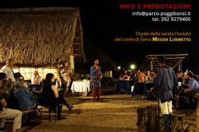 A Cena tra le Capanne (giovedì 1 agosto 2019, ore 20.00)