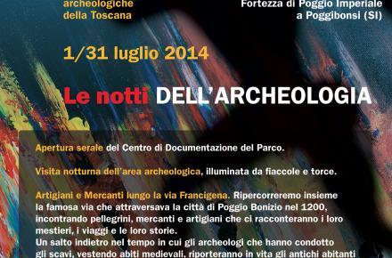 Le Notti dell'Archeologia (23 agosto 2014, ore 21)
