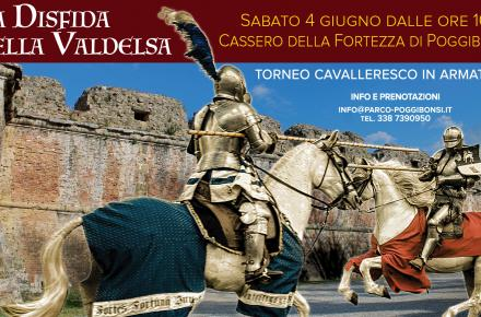 La Disfida della Valdelsa - Cassero della Fortezza di Poggibonsi, sabato 4 giugno 2016